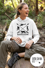 Load image into Gallery viewer, Women's Battle Ground 'Squatch Edition Hoodie