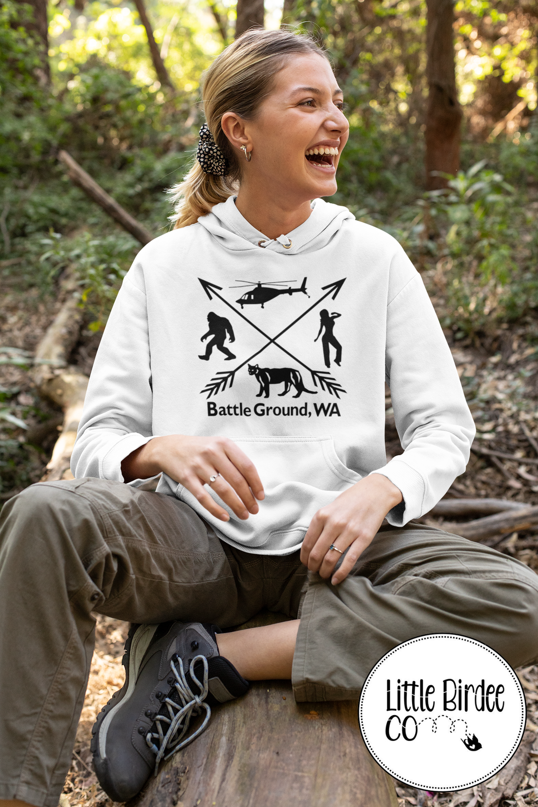 Women's Battle Ground 'Squatch Edition Hoodie