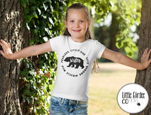 "Load image into Gallery viewer, Kids ""Sister Bear"" Short Sleeve T-Shirt"