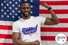 "Load image into Gallery viewer, Men's ""USA"" Short Sleeve T-Shirt"