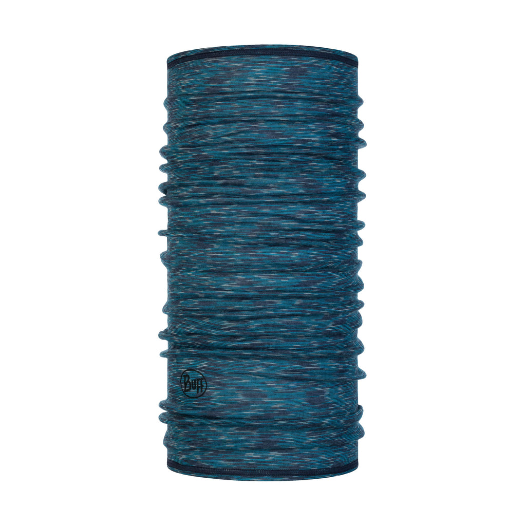 Buff Merino LW Pattern - Lake Blue Multi Stripes