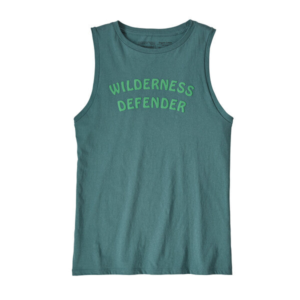 Patagonia Camp ID Tank - Tasmanian Teal w/Wilderness Defender