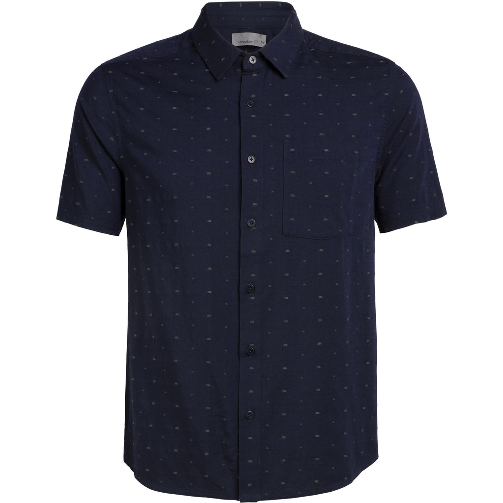 Icebreaker Compass Shirt - Navy