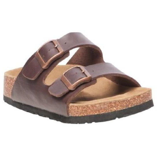 Aura Erin Sandal - Brown