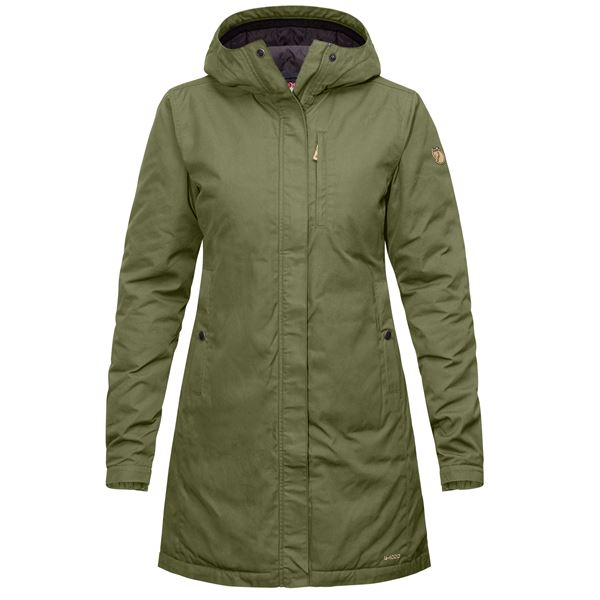 Fjallraven Kiruna Padded Jacket - Green