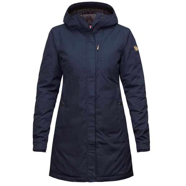 Fjallraven Kiruna Padded Jacket - Navy