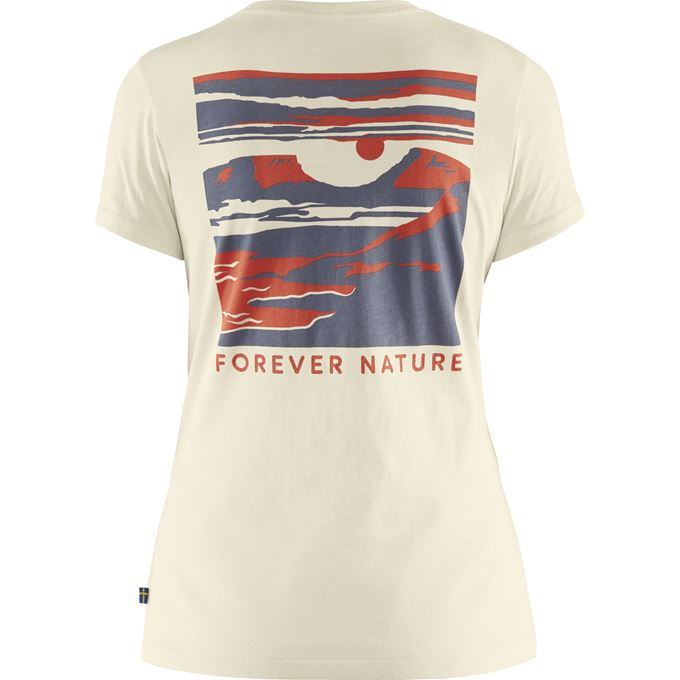 Fjallraven Tornetrask T-Shirt Women's - White