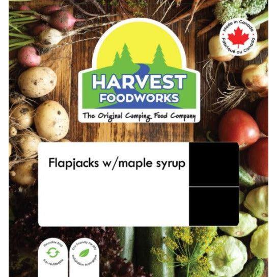 Harvest Foodworks Flapjacks With Syrup