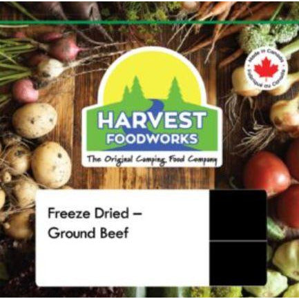 Harvest Foodworks Freeze Dried Ground Beef 4P