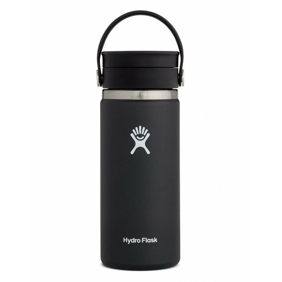 Hydro Flask 16oz Wide Mouth With Flex Sip Lid - BLACK
