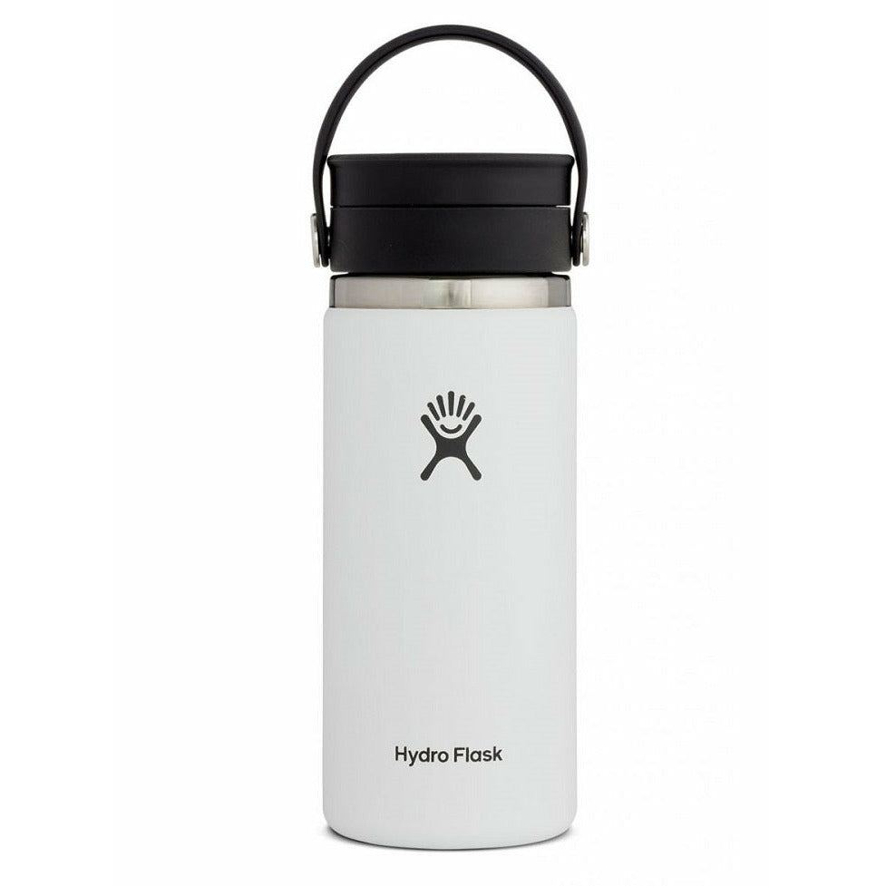 Hydro Flask 16oz Wide Mouth With Flex Sip Lid - WHITE