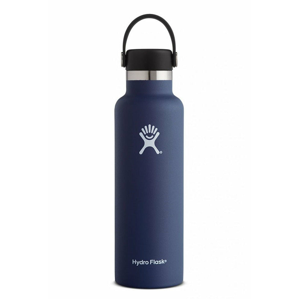 Hydro Flask 21oz Standard Mouth With Flex Cap - COBALT
