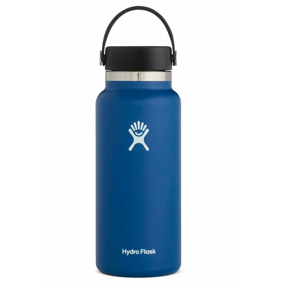 Hydro Flask 32oz Wide Mouth With Flex Cap - COBALT