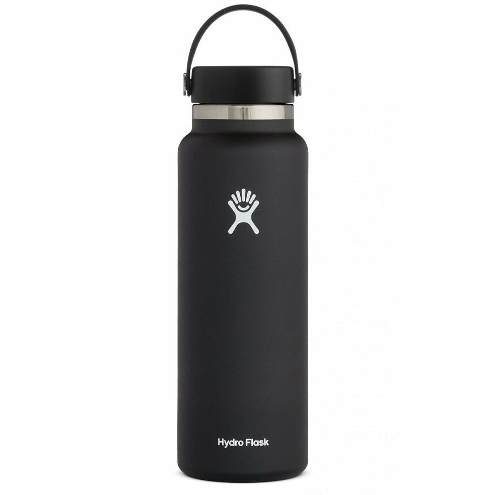 Hydro Flask 40oz Wide Mouth With Flex Cap - BLACK