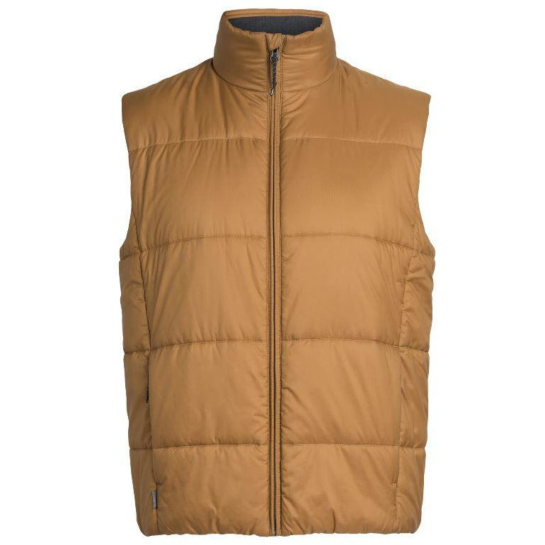 Icebreaker Collingwood Vest Men - TAWNY