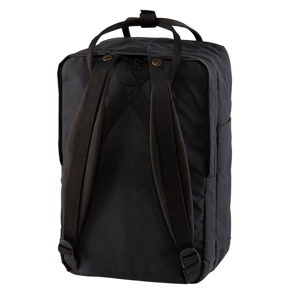 "Fjall Raven Kanken 15"" Laptop - BLACK"