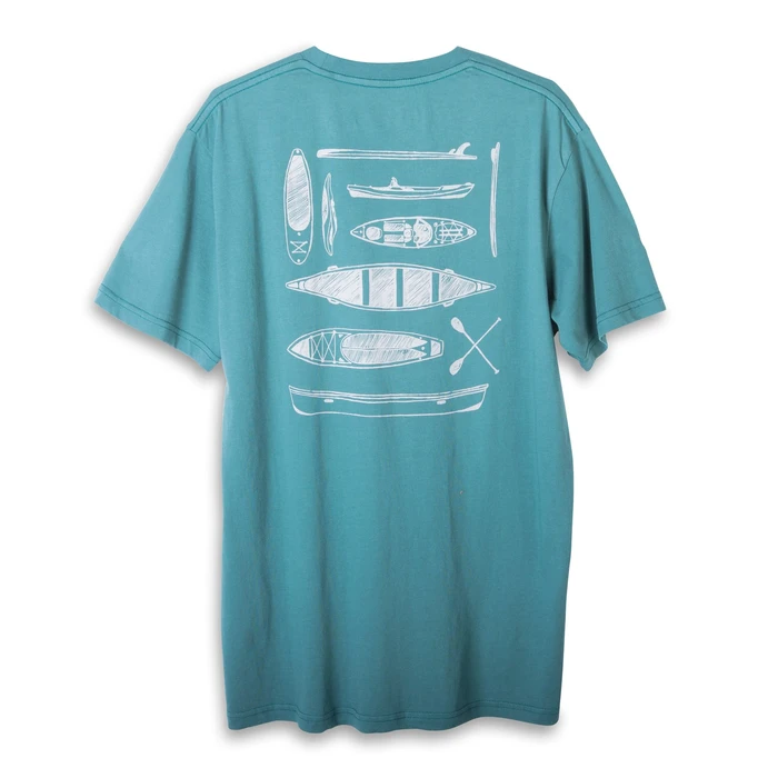 Kavu Paddle Out Tee Men's - EUCALYPT