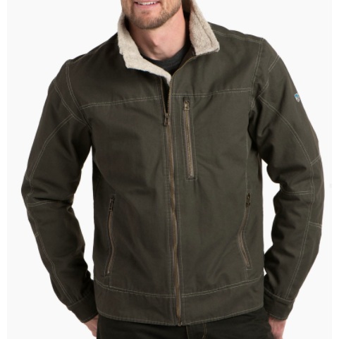Kuhl Burr Lined Jacket - Gunmetal