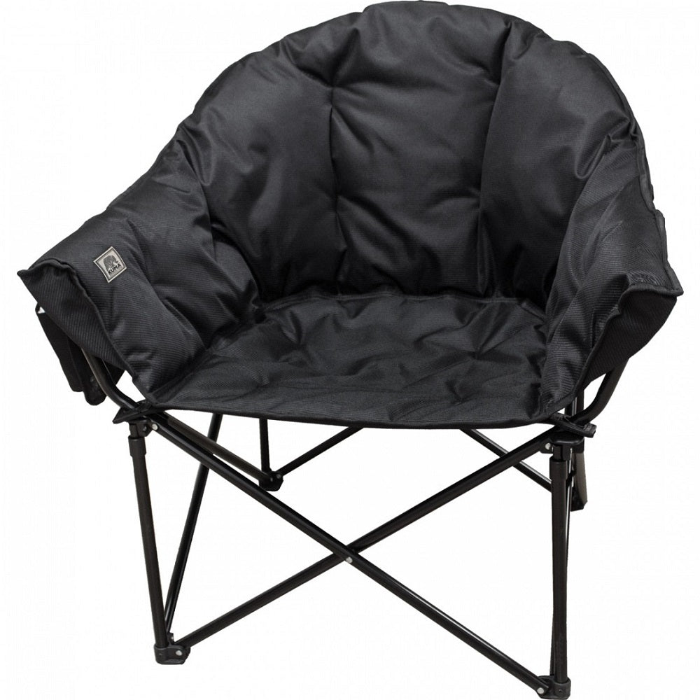 Kuma Lazy Bear Chair - Carbon Black