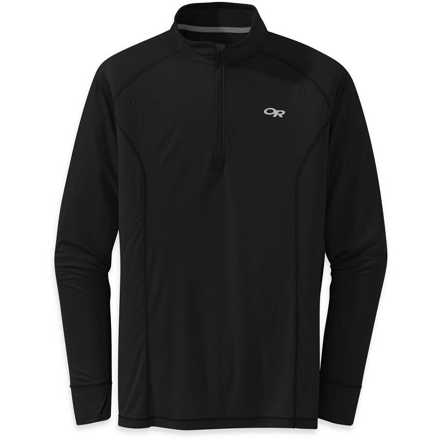 OR Echo 1/4 Zip - Black