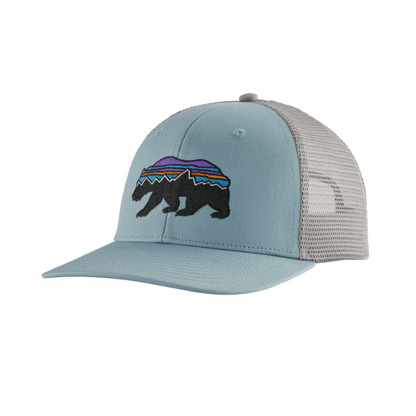 Patagonia Fitz Roy Bear Trucker Hat - Big Sky