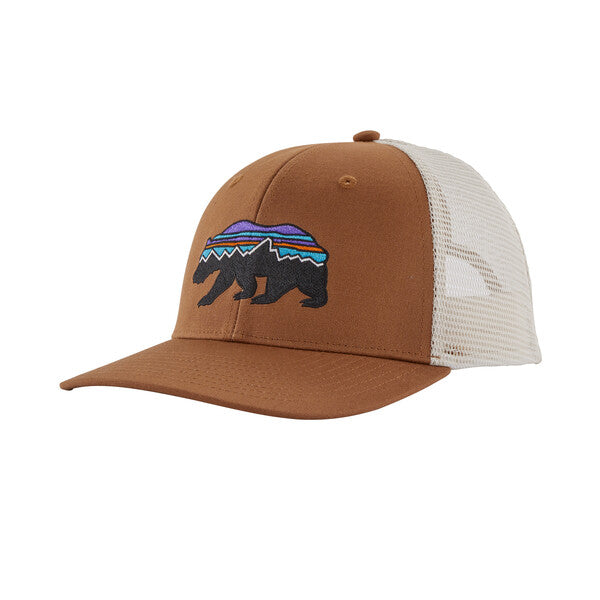 Patagonia Fitz Roy Bear Trucker Hat - EARTH BR