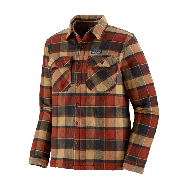 Patagonia Insulated Fjord Flannel Jacket - PBRD