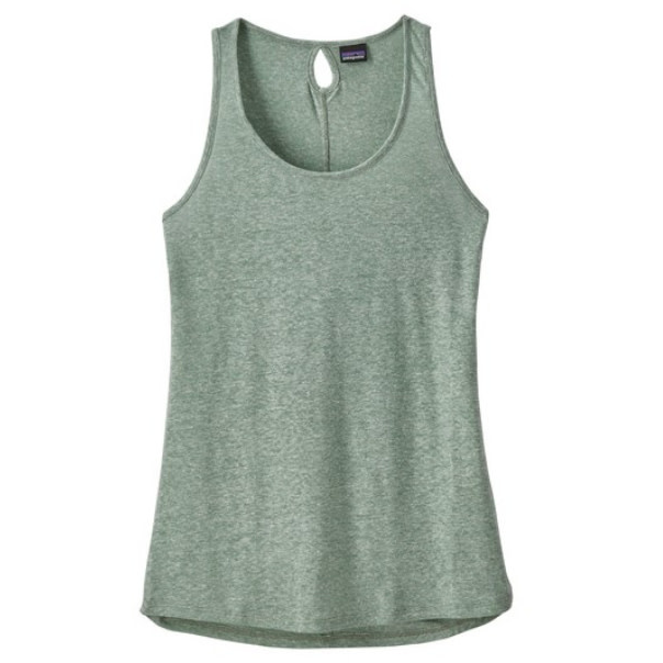 Patagonia Mount Airy Scoop Tank Women's - GREEN