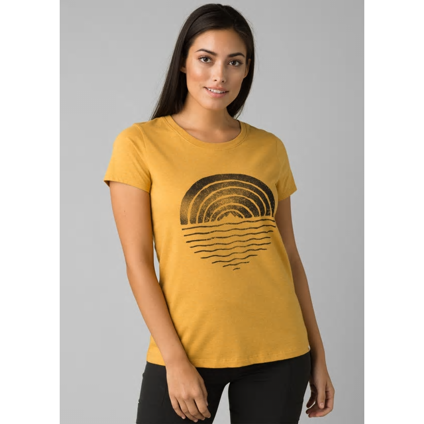 Prana Graphic Tee - TOFFEE