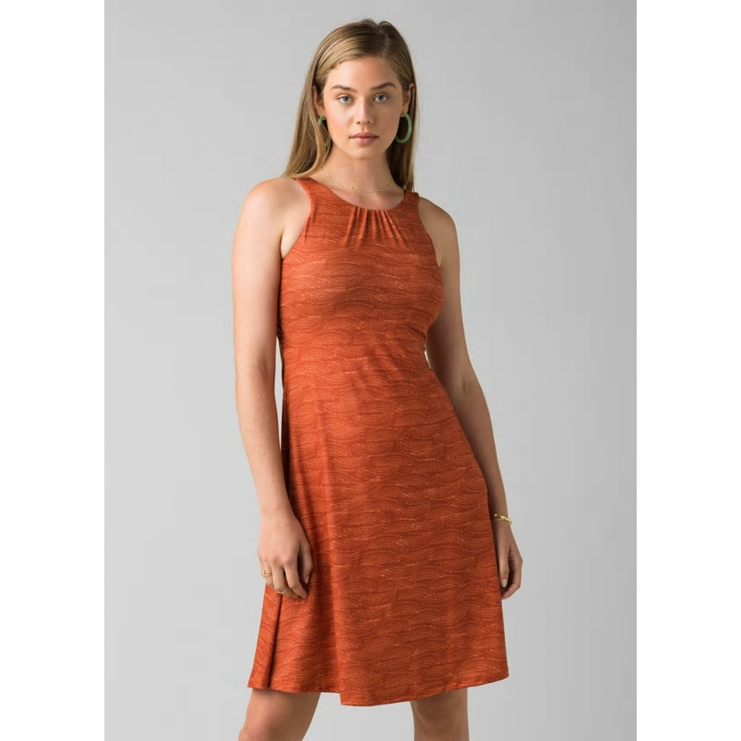 Prana Skypath Dress - Liqueur Riptide