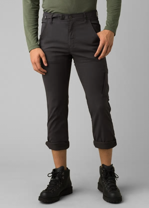 Prana Stretch Zion Straight Leg - CHARCOAL