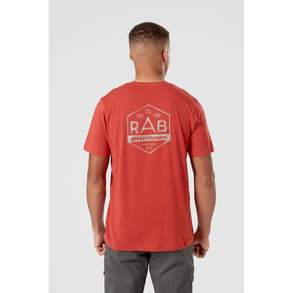 Rab Stance Hex Tee Men's - CLAY