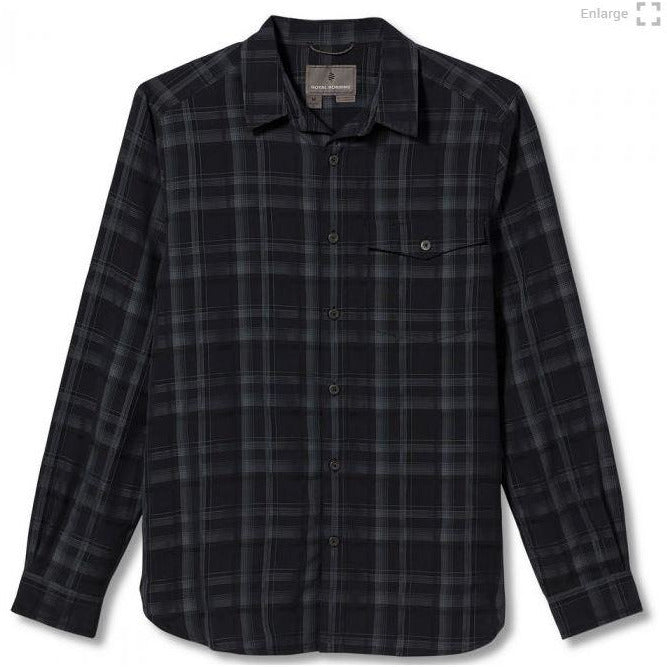 Royal Robbins Sonora Plaid Men's - ASPHALT