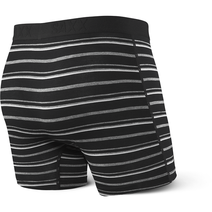 Saxx Vibe Boxer - Black Coast Stripe