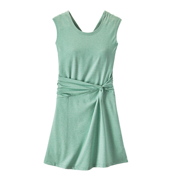 Patagonia Seabrook Twist Dress - Gypsum Green