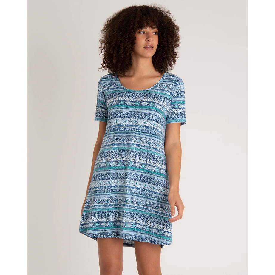 Sherpa Kira Swing Dress Women's - BLUE