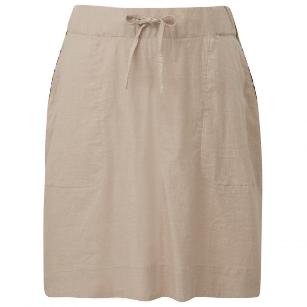 Sherpa Kiran Hemp Skirt Women's - SAND