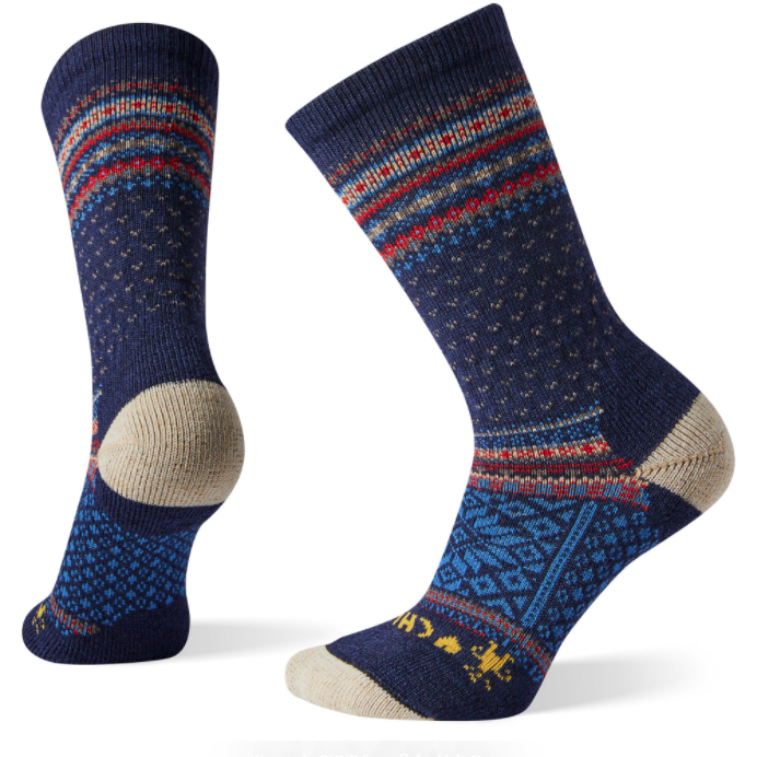 Smartwool Chup Snowflake Volt Crew Women