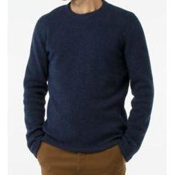 Smartwool Hudson Trail Crew Sweater - Navy