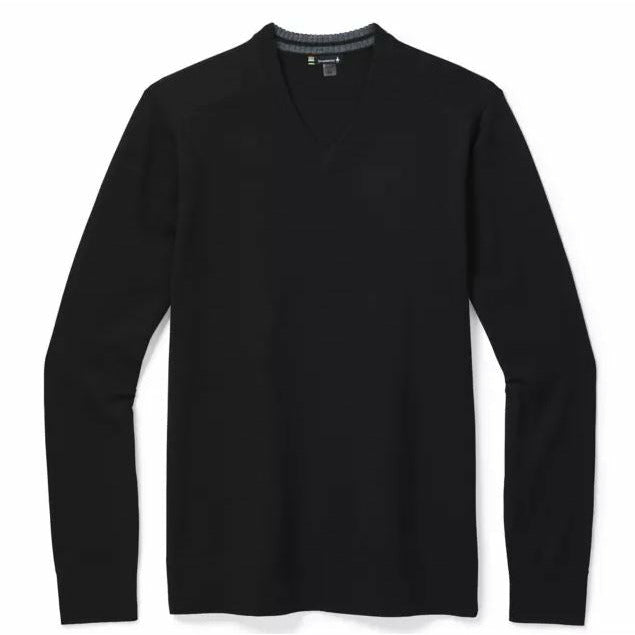 Smartwool Sparwood V-Neck - Black