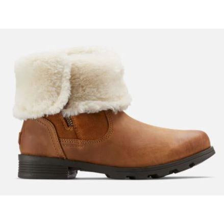 Sorel Emelie Fold-Over - BROWN