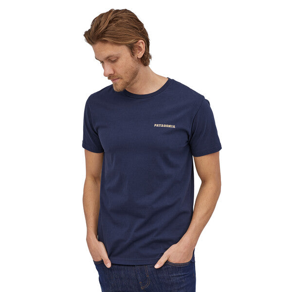 Patagonia Summit Road Organic T-Shirt - Classic Navy