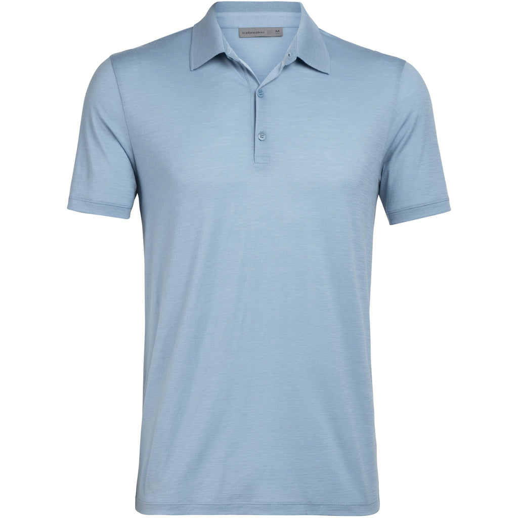 Icebreaker Tech Lite SS Polo - Waterfall