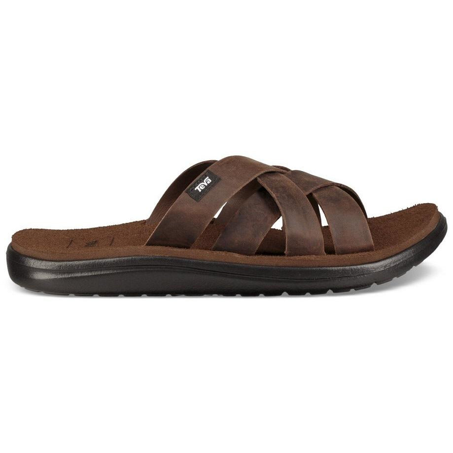 Teva Voya Slide Leather - CARAFE