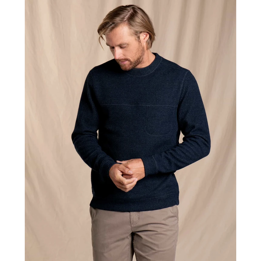 Toad and Co Breithorn Crew Sweater Men's - BIG SKY