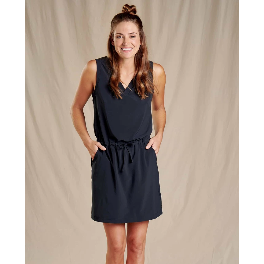 Toad and Co Sunkissed Liv Dress Women's - BLACK
