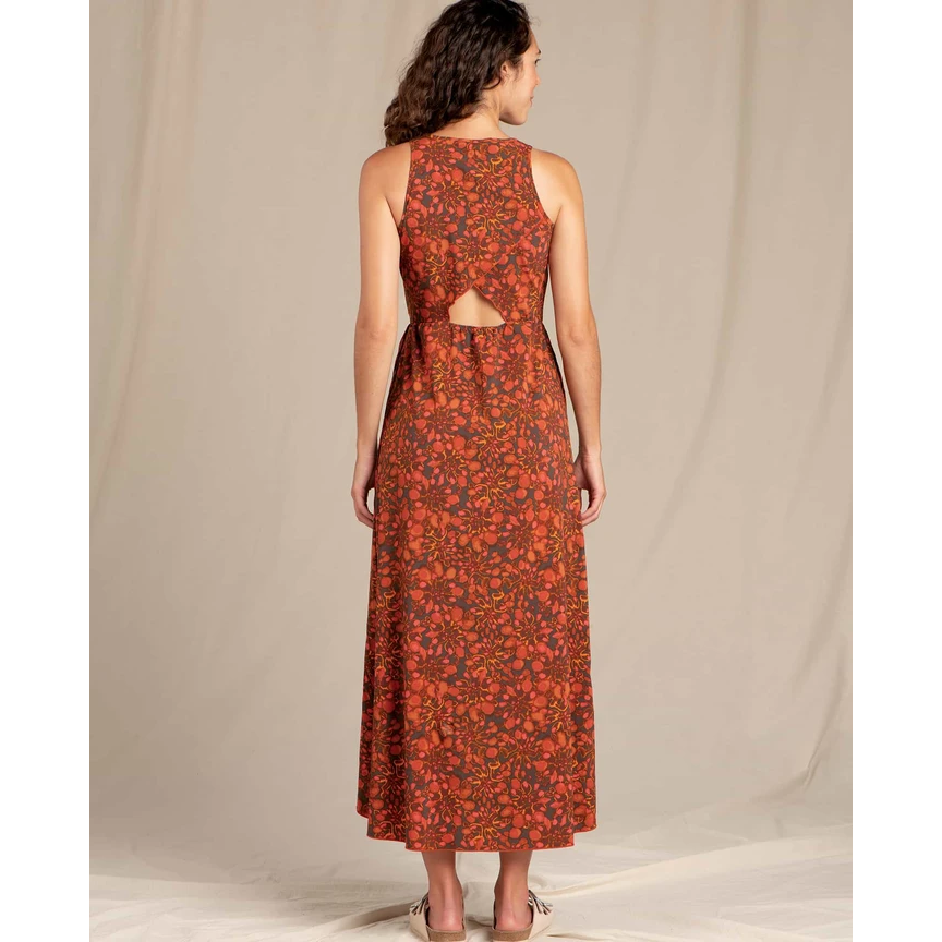 Toad and Co Sunkissed Maxi Dress Women's - AUBURN