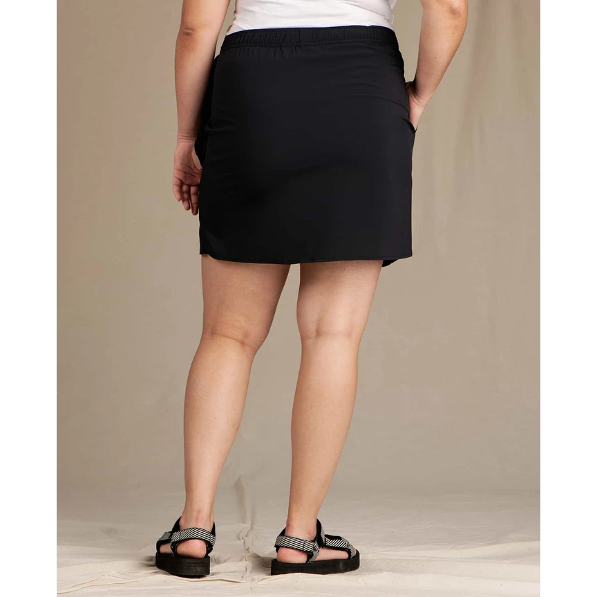 Toad and Co Sunkissed Wrap Skirt Women's - BLACK