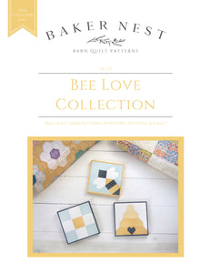 Bee Love Collection Barn Quilt Pattern