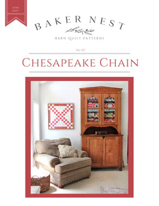 Chesapeake Chain Barn Quilt Pattern